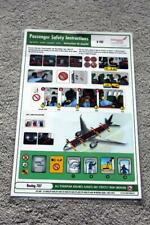 ETHIOPIAN AIRLINES BOEING 787 SAFETY CARD
