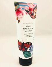 Bath & Body Works Pink Magnolia Body Cream 8 Oz Full-Size