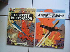 JACOBS / BLAKE ET MORTIMER / LE SECRET DE L ESPADON 1 ET 2 / 1970