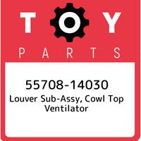 55708-14030 Toyota Louver sub-assy, cowl top ventilator 5570814030, New Genuine