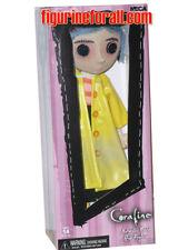 "NECA Coraline 10"" Doll Raincoat Poseable Authentic Replica Action Figure Gaiman"