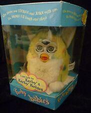 Furby bebés-en Caja Original Con Etiquetas Originales, 1999 Tiger Electronics