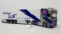 Herpa 941266 Scania R TL Sattelzug Lechner Trans Lissy Pink Lady Trucker Babes