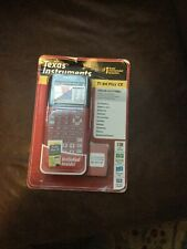 New ListingTexas Instruments Color Graphing Calculator Ti-84 Plus Ce Red Brand New