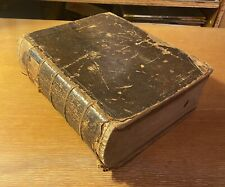 Antique 1852 Noah Webster American Dictionary of the English Language