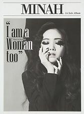 Mina, Minah - I Am a Woman Too (Mini Album) [New CD] Asia - Import