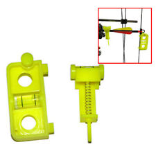 Universal Outdoor Archery Yellow Parallel Bow Vise Adjustment Support Plastic
