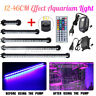 LED Submersible Aquarium Light Fish Tank Lighting Lamp + Oxygen Air Pump ! W