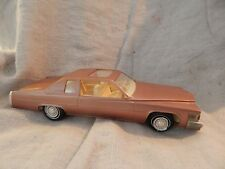 Vintage Jo-Han 1978 Cadillac Coupe de Ville Dealer Promo Car Copper