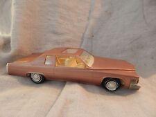 Vintage Jo-Han 1978 Cadillac Coupe de Ville Dealer Promo Car Copper