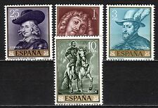 Spain - 1962 Paintings (VI) - Mi. 1322-25 MNH