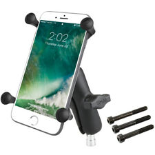 RAM X-Grip Motorcycle Handlebar Clamp Mount for iPhone Plus, Samsung Mega, More
