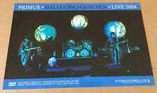Les Claypool PRIMUS 2004 PROMO POSTER for Hallucino DVD USA 17x11 Never Display