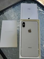 Apple iPhone XS Max - 64GB - White (AT&T) A1921 (CDMA + GSM) Will NOT WORK WITH
