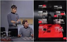 Vintage Star Trek Prop 3D Space Checkers Game