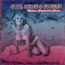 Love, peace & poetry-Chili psychedelic Music CD