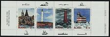 Aland 67a Booklet MNH Lighthouses, Ships, Birds, Fish