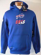 NWT Nike Buffalo Bills Mens KO Sideline Performance Hoodie S Blue MSRP$80