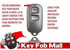 NEW Keyless Entry Key Fob Remote For a 2002 Toyota Tacoma Free Program Inst.