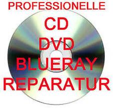 PROFESSIONELLE CD / DVD / BLURAY / SPIELE DISC REPARATUR - 5 STÜCK