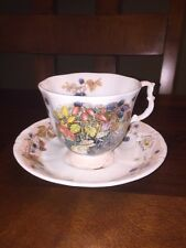 Vintage 1983 Royal Doulton Brambly Hedge Autumn Cup & Saucer Made In England