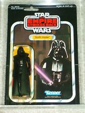 Vintage Star Wars 1980 Kenner AFA 75/80/85 DARTH VADER ESB 41 back-D CARD MOC!
