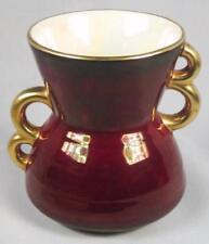 Red Vintage Original Carlton Ware Pottery & Porcelain