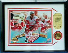 STEVE YZERMAN, Detroit Red Wings, Highland Mint Photo Display, Ltd 430/2500