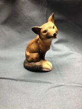 Sitting Fox Figure Japan