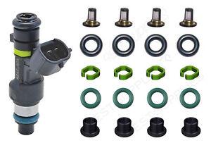 Fuel Injector Service Repair Kit Orings Filters FOR Nissan Cube Sentra Versa l4