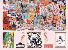 Matt Busch SIGNED '17 Star Wars Celebration Exc Print #150/250 w/ ORIGINAL ART