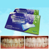 1 Pouch 3D Teeth Whitening White Stpips Whitestrips Home KIT Tool