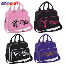 a7f8c3c6255 Personalised Dance Bag Kids Girls Gymnastics Childrens Glitter Ballet School