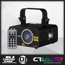 Laser 180mW CR COMPACT Pink Red Blue DMX DJ Laser Show Light Disco BRAND NEW