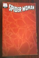 SPIDER-WOMAN #1 (MARVEL, 2020) 1/200 RED WEB WRAP AROUND VARIANT VF (copy a)