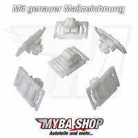 5X Coupez clips de moulage Support de pince fixation pour Audi a3 a4 a6