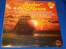 vintage NEW sealed LP DISQUE HEINO Die 20 schönsten Lieder der Meere 0881467911