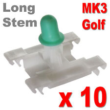 GOLF MK3 DOOR TRIM CLIPS BUMPSTRIP STRIP MOULDING VW VOLKSWAGEN LONG STEM