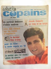 Salut les copains – N° 11 –1963 – Cliff Richard, Elvis Presley, Dick, Claude Fra