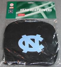 NCAA NWT HEAD REST COVERS -SET OF 2- UNC - U. NORTH CAROLINA