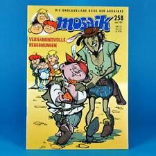 Mosaico Abrafaxe 258 | maggio 1997 | DDR DA COLLEZIONE b1 | disastrosa incontri