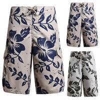 Men's Hawaiian Style Shorts Floral Cargo Jogger Summer Jogging Gym Pants Shorts