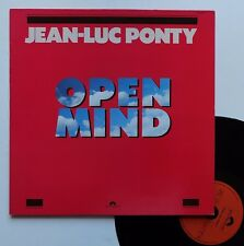 "LP Jean-Luc Ponty  ""Open mind"""