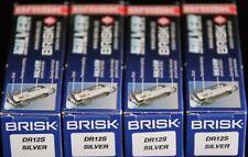 4 NEW Spark Plug For FORD SIERRA COSWORTH FIESTA ESCORT ASTON MARTIN BRISK DR12S
