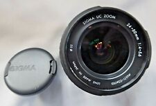 SIGMA 24-50MM f4-5.6 UC Zoom Lens for Pentax PKa With Lens Hood New Boxed