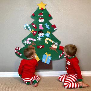 Advent Christmas Calendar Felt Fabric Panel Panels For Girls Boys Fill Your Own
