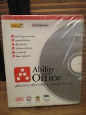 Ability Office Complete  For Netbooks Windows XP Compatible