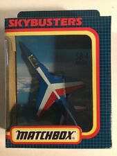 Vintage années 1980 Matchbox Skybusters SB-4 Mirage F1 NEW IN BOX