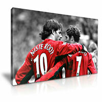 Ruud van Nistelrooy Cristiano   CANVAS WALL ART PICTURE PRINT VARIOUS SIZES