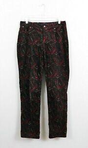 Talbots Women Pants, Size 8, Corduroy, Multicolor, 98% cotton, 2% spandex